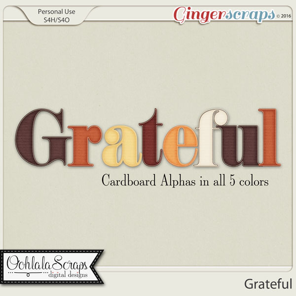Grateful Alphabets