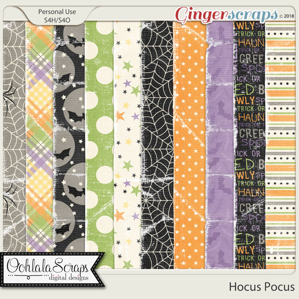 Hocus Pocus Worna and Torn Papers