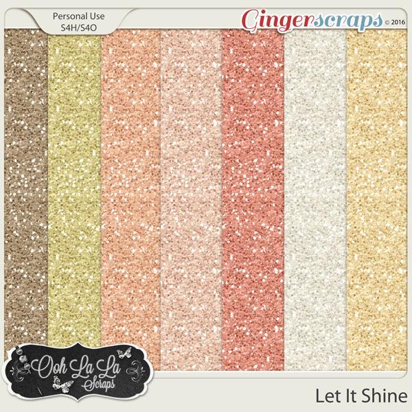 Let It Shine Glitter Sheets