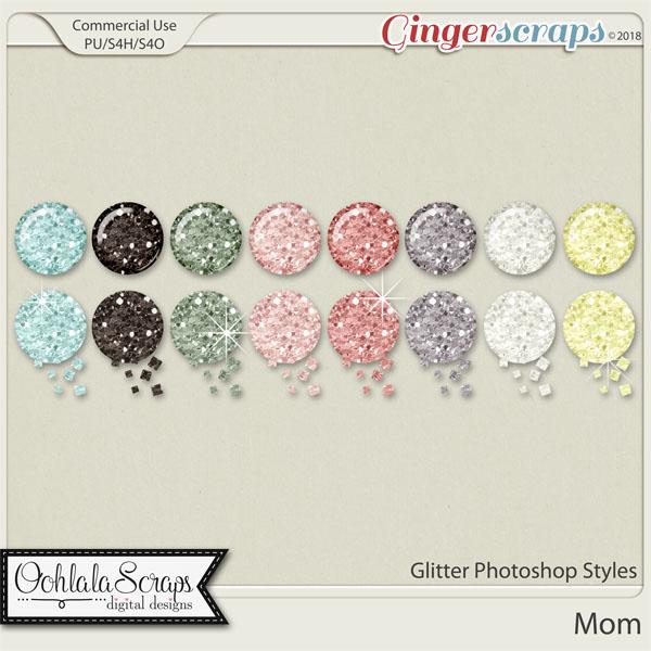 Mom CU Glitter Photoshop Styles