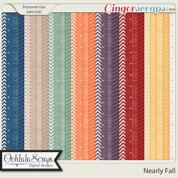 Nearly Fall Pattern Papers