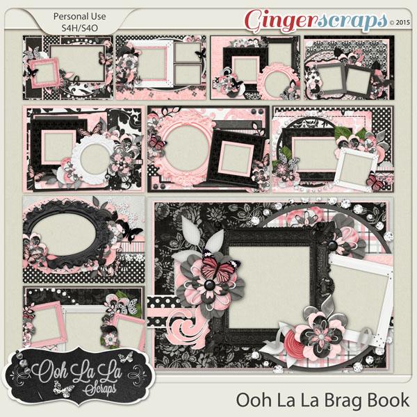 Ooh La La 5x7 Brag Book