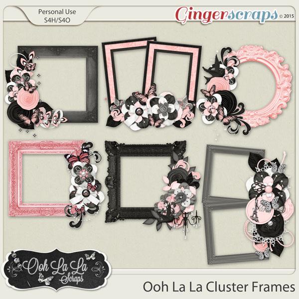 Ooh La La Cluster Frames