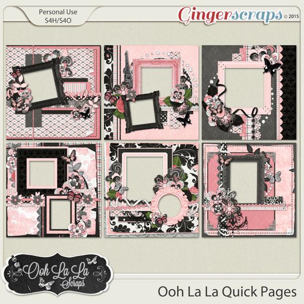 Ooh La La Quick Pages