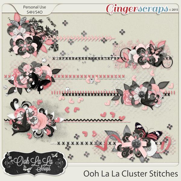 Ooh La La Cluster Stitches