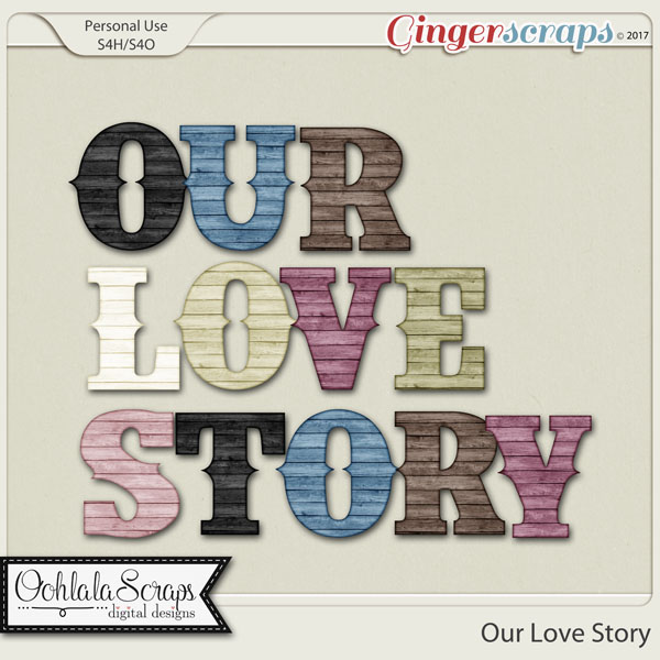 Our Love Story Alphabets