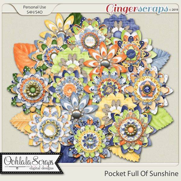 Pocket Full Of Sunshine Layered Flowers
