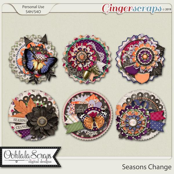 Seasons Change Cluster Seals