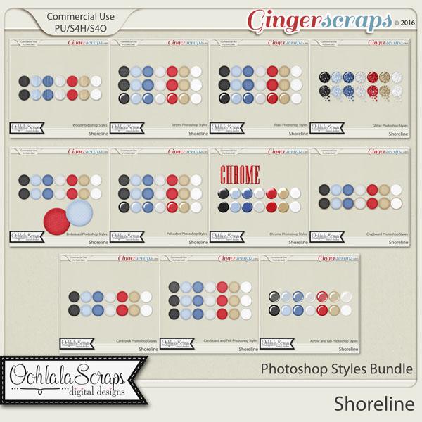Shoreline CU Photoshop Styles Bundle