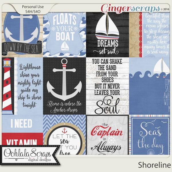 Shoreline Journal and Pocket Scrap Cards
