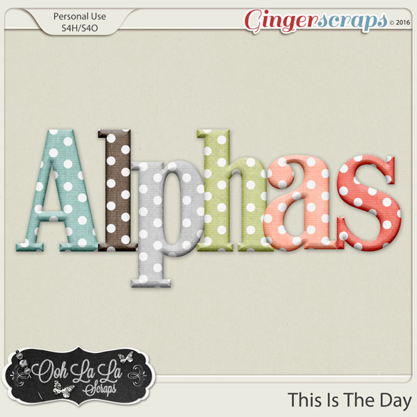 This Is The Day Alphabets