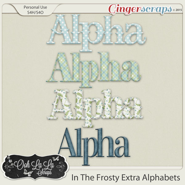 In The Frosty Air Alphabets