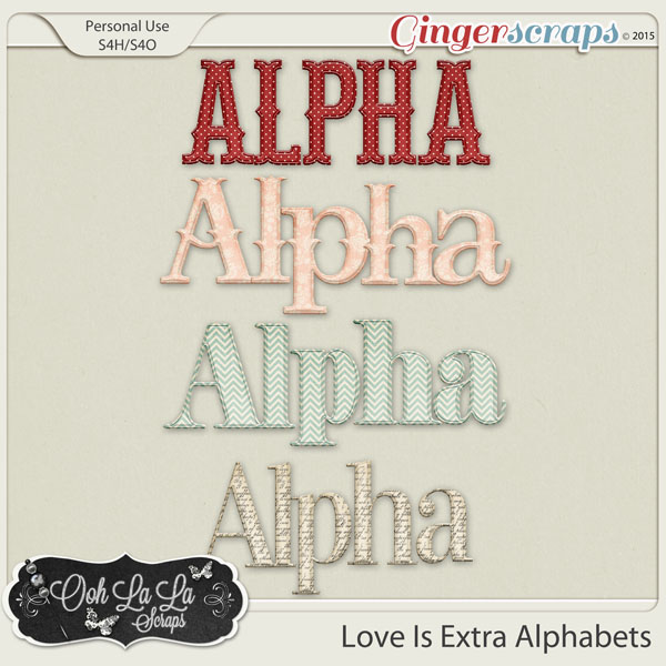 Love Is Alphabets