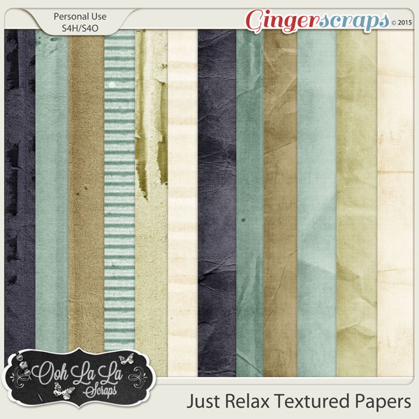 Just Relax Textured Papers