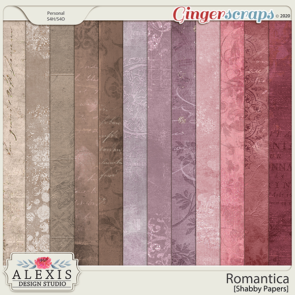 Romantica - Shabby Papers