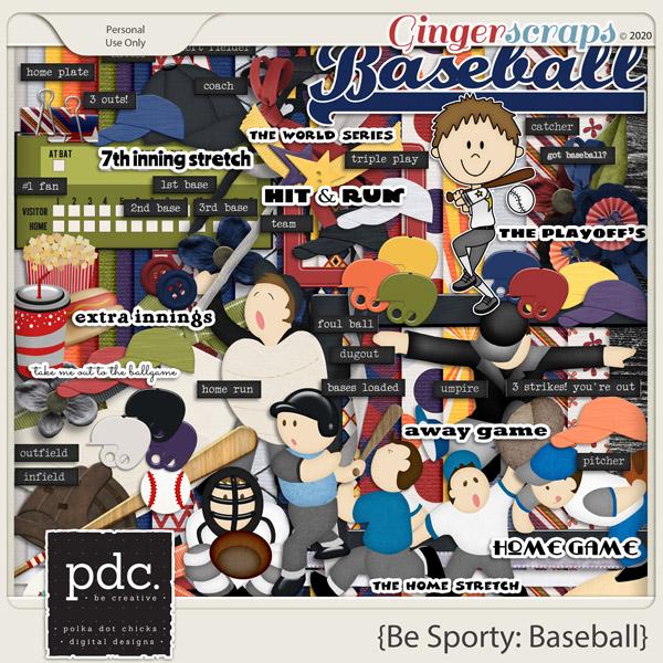 Be Sporty: Baseball