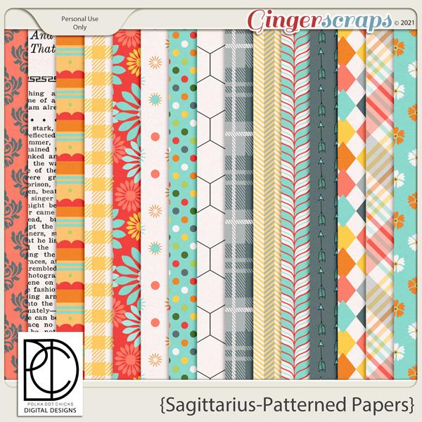 Sagittarius (Patterend Papers)