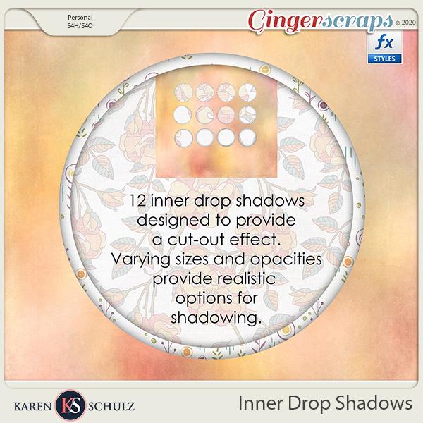 Inner Drop Shadows by Karen Schulz