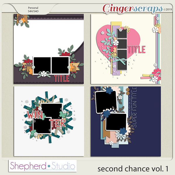 Second Chance Vol 1 Templates by Shepherd Studio
