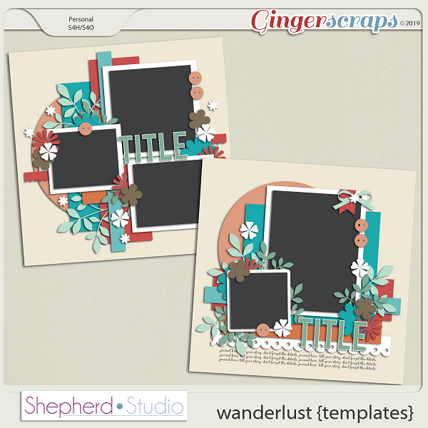 Wanderlust Templates by Shepherd Studio
