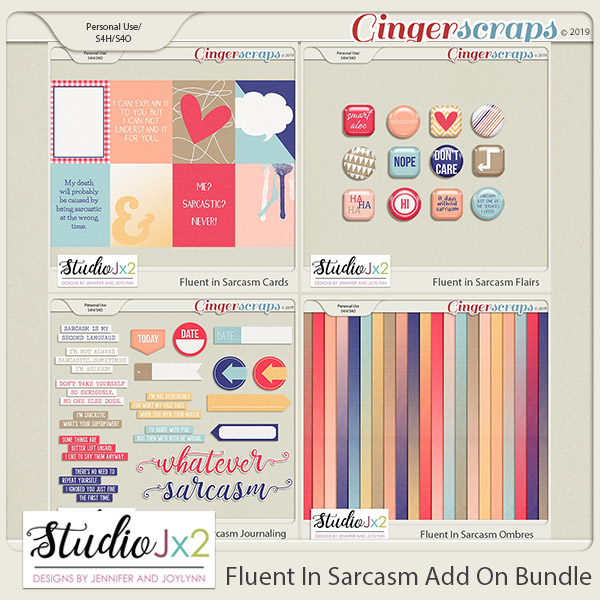 Fluent In Sarcasm Add On Bundle