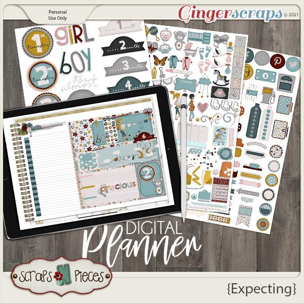 Expecting Planner Pieces - Scraps N Pieces
