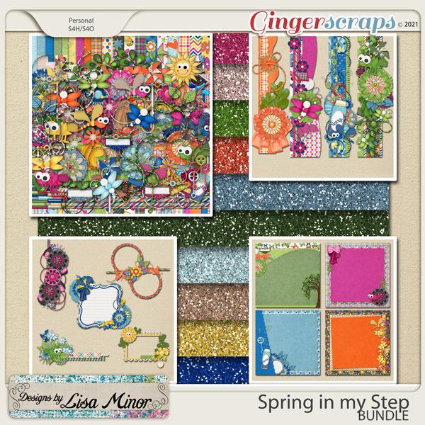 Spring in My Step BUNDLE from Designs by Lisa Minor