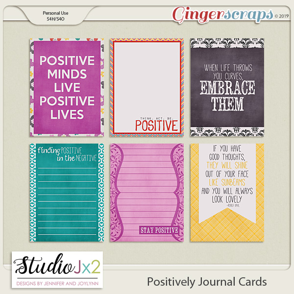 Positively Journal Card Pack
