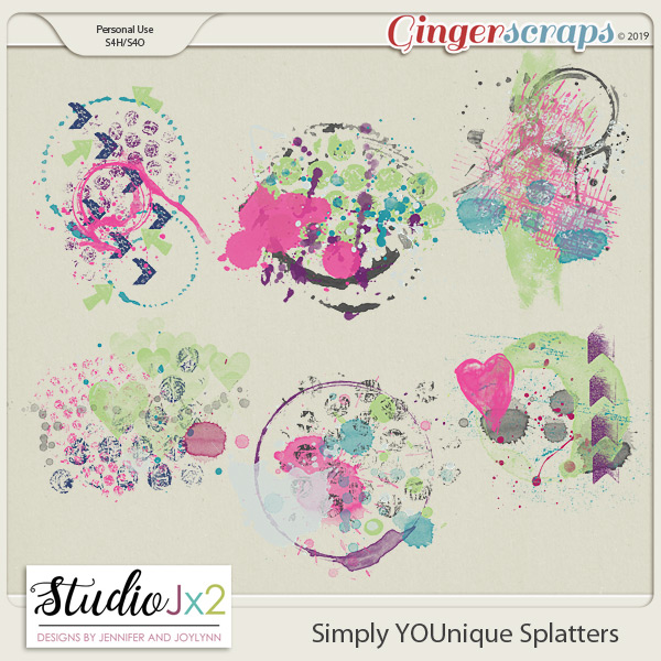 Simply YOUnique Splatter Pack