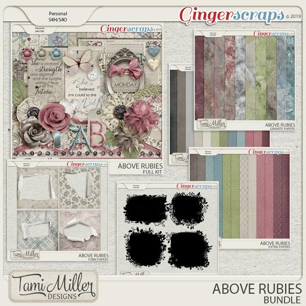 Above Rubies Bundle by Tami Miller Designs