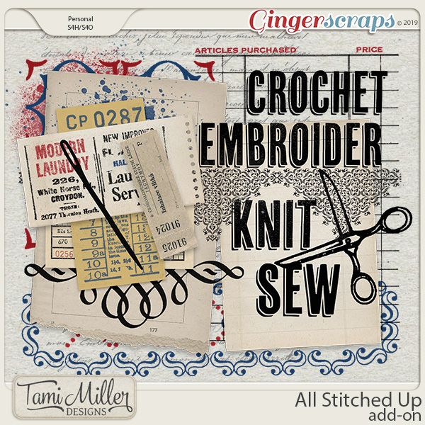 All Stitched Up Add-On by Tami Miller Designs