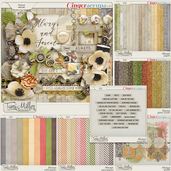 Always Bundle by Tami Miller Designs