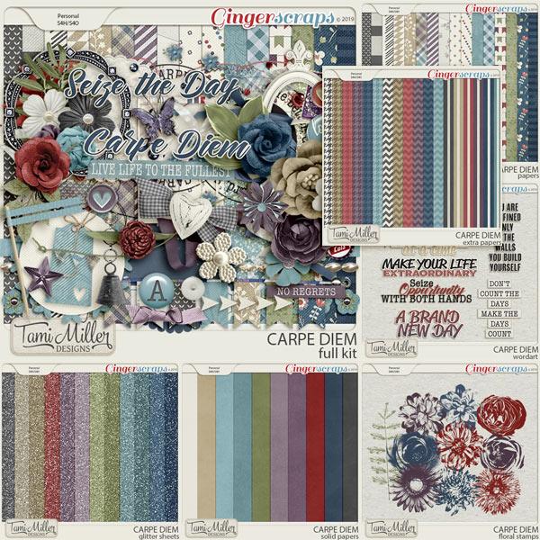 Carpe Diem Bundle by Tami Miller Designs