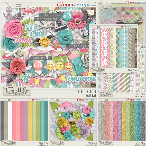 Chit Chat Bundle by Tami Miller Designs