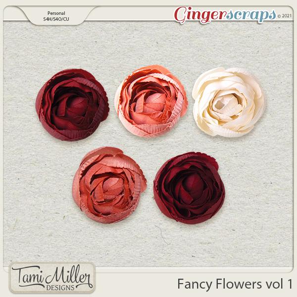 CU Fancy Flowers Vol 1 by Tami Miller Designs