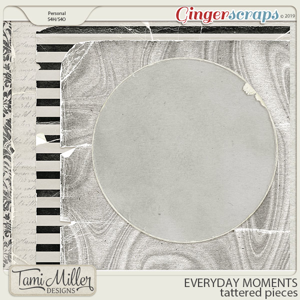 Everyday Moments Tattered Pieces by Tami Miller Designs