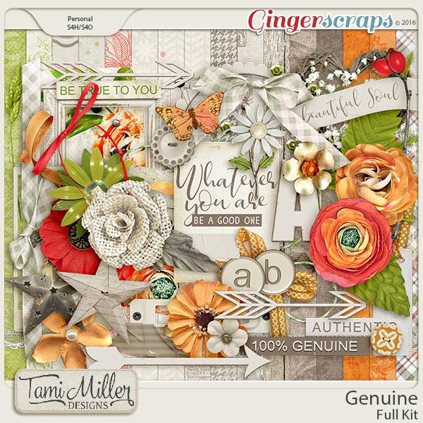 Genuine Full Kit by Tami Miller Designs