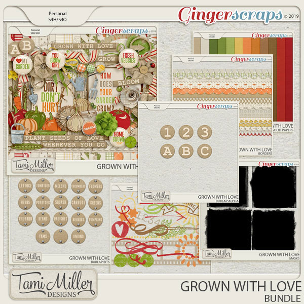 Grown with Love Bundle by Tami Miller Designs