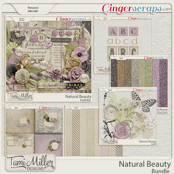 Natural Beauty Bundle by Tami Miller Designs