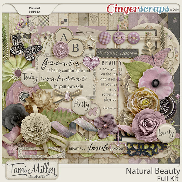 Natural Beauty Full Kit by Tami Miller Designs