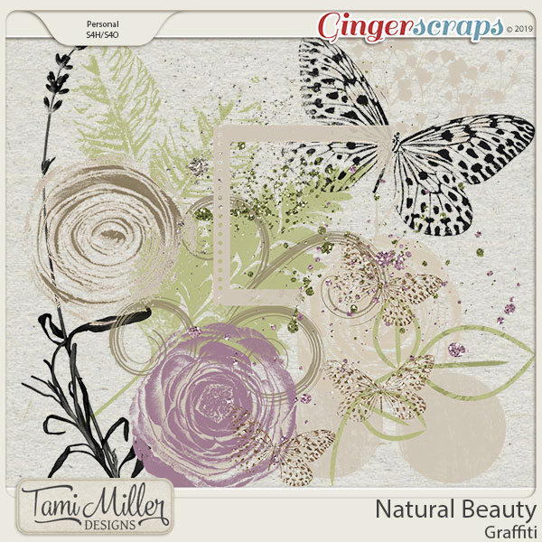 Natural Beauty Graffiti by Tami Miller Designs