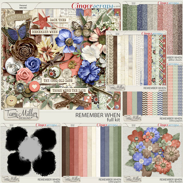 Remember When Bundle by Tami Miller Designs