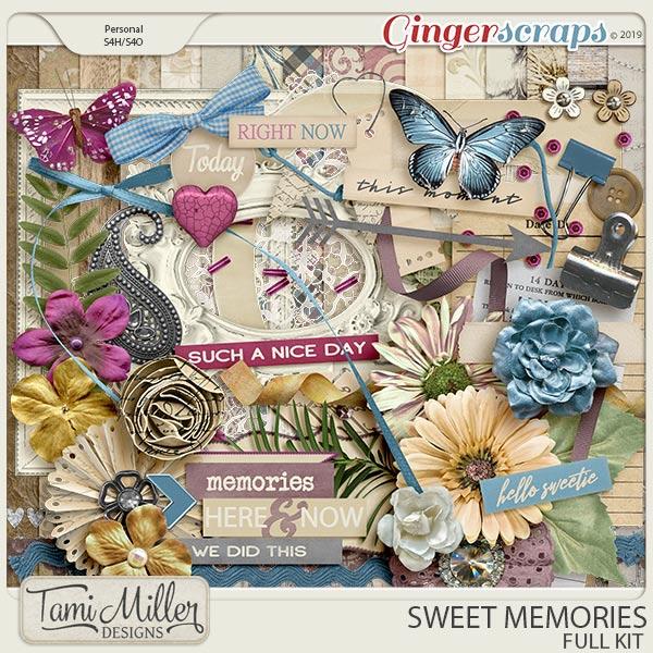 Sweet Memories Full Kit by Tami Miller Designs