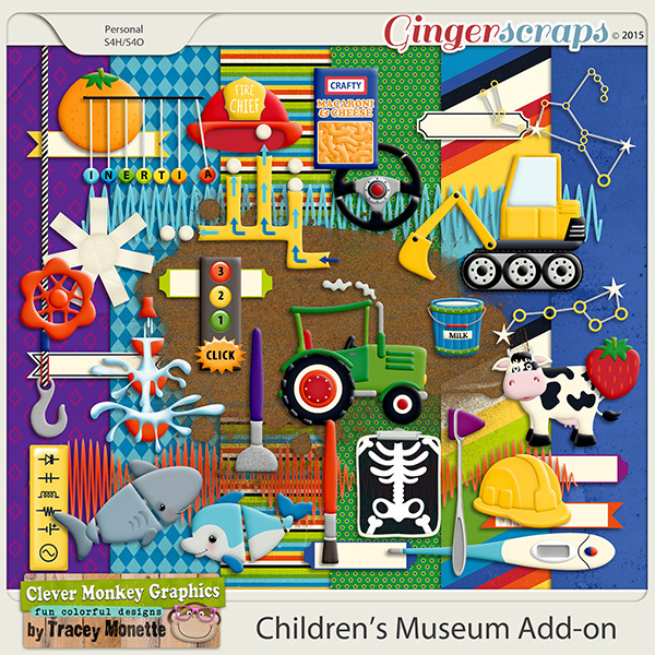 Children's Museum Add-on by Clever Monkey Graphics