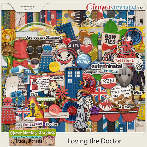 Loving the Doctor by Clever Monkey Graphics