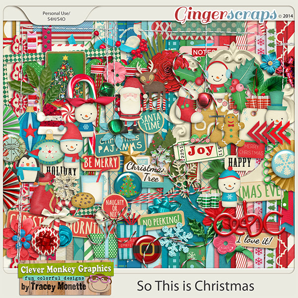 So This is Christmas by Clever Monkey Graphics