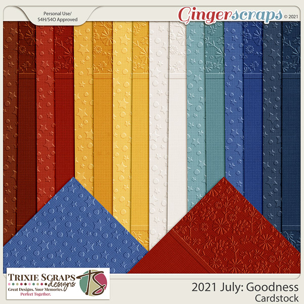 2021 July: Goodness Cardstock by North Meets South Studios