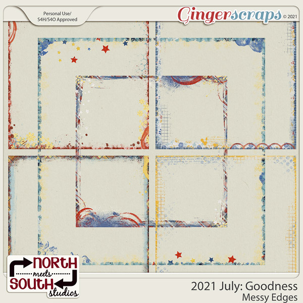 2021 July: Goodness Messy Edges by North Meets South Studios