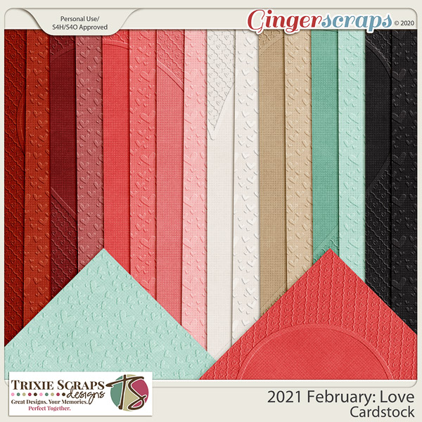 2021 February: Love Cardstock by North Meets South Studios
