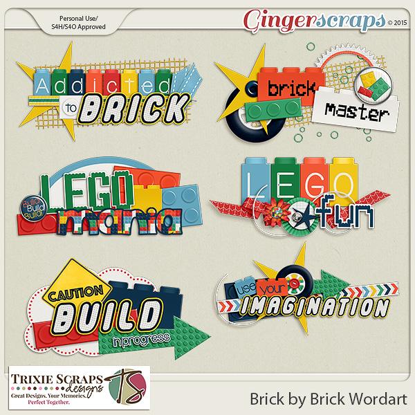 Brick by Brick Wordart by Trixie Scraps Designs